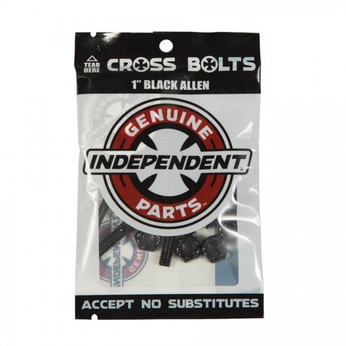 """Independent Genuine Parts 1"""" Allen Hardware Black"""