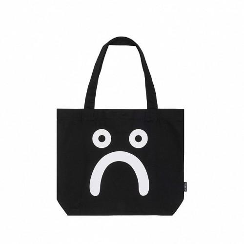 Polar Skate Co Happy Sad Tote Bag Black