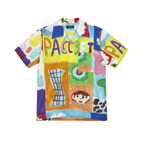 РАССВЕТ Pattern S/S Shirt Multi