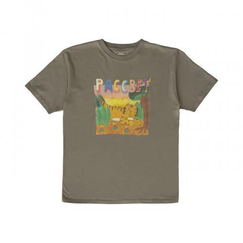 РАССВЕТ Tiger T-Shirt Grey