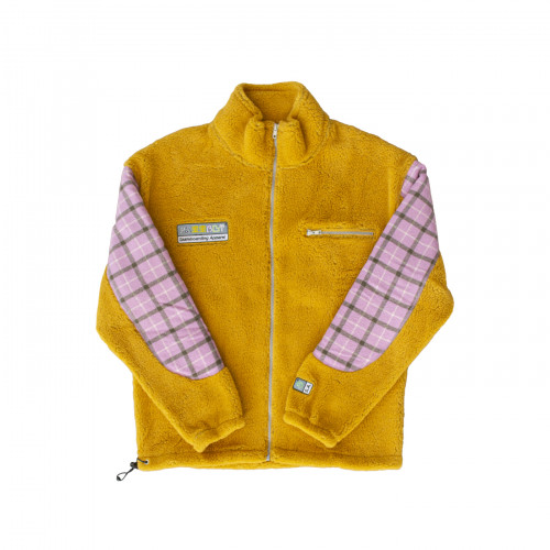 РАССВЕТ Fleece Jacket Yellow