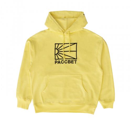 РАССВЕТ Logo Hoodie Yellow
