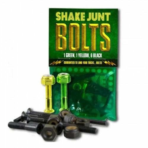 Shake Junt Black/Green/Yellow Bolts