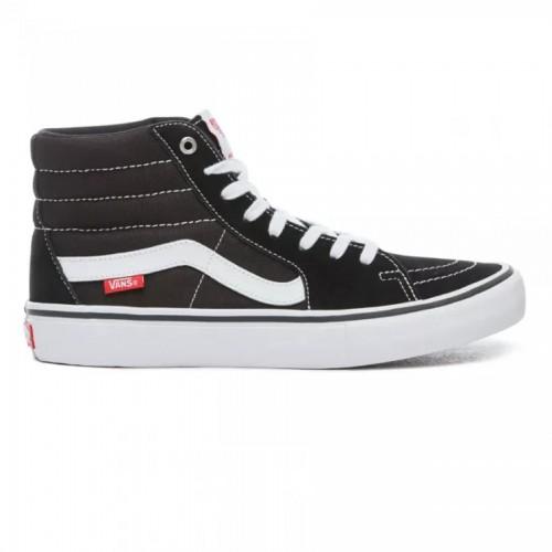 Vans Sk8-Hi Pro Shoes Black/White