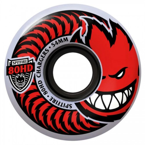 Spitfire Wheels Soft 80HD Chargers Classic Clear 58MM