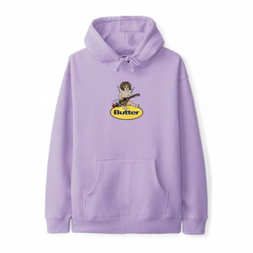 Butter Goods Angel Badge Pullover Lavender